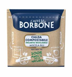 caffe borbone cialda blu carta 44