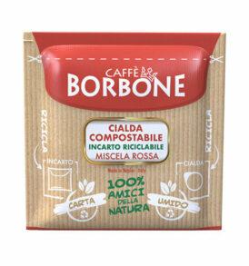 caffe borbone miscela rossa cialde carta caffe