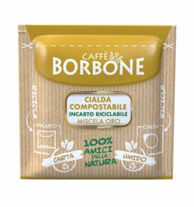 caffe borbone cialde oro carta