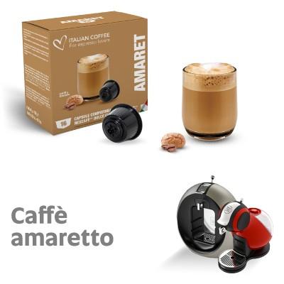 nescaf%C3%A9 dolce gusto capsule compatibili  16 Capsule compatibili Nescafè Dolce Gusto Caffè Amaretto Italian ...