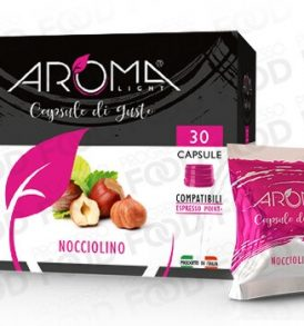 Capsule di Nocciolino Aroma Light Compatibili Espresso Point