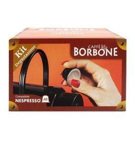 caffe borbone kit degustazione assaggio nespresso blu rosso nero verde