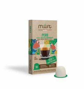 nespresso biodegradabili peru