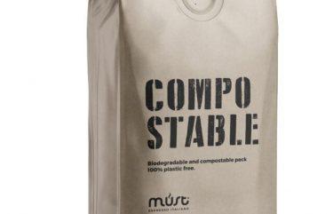caffe biodegradabile grani