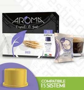 capsule orzo fior fiore lui espresso aroma vero
