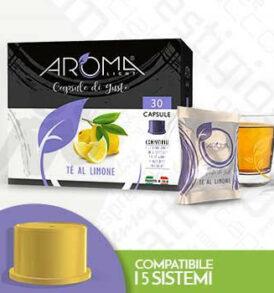 capsule te limone aroma vero mitaca fior fiore