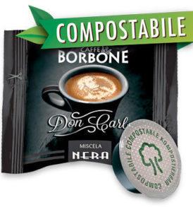 caffe borbone capsule lavazza biodegradabili compostabili