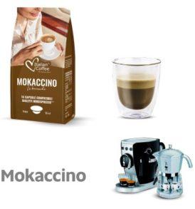 capsule mokaccino cioccolato caffe bialetti