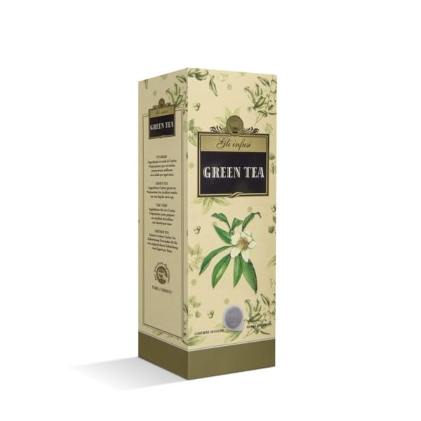cialdecarta infuso tea verde green the