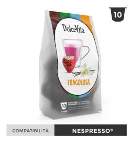 capsule fragolosa cheesecake fragola caffe nespresso