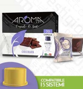 cioccolata capsule fior fiore aroma vero e tuo