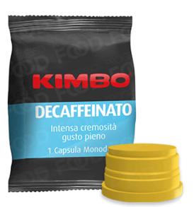 kimbo decaffeinato capsule