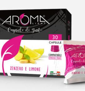capsule lavazza point zenzero limone