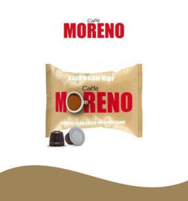 caffe moreno nespresso capsule cialde
