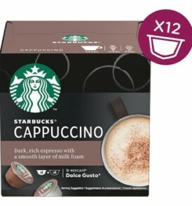 starbucks cappuccino dolce gustostarbucks cappuccino dolce gusto