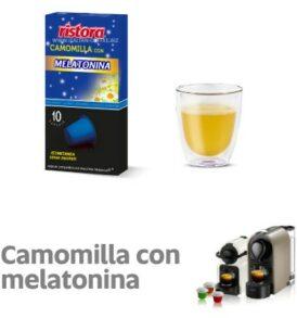capsule camomilla melatonina nespresso ristora