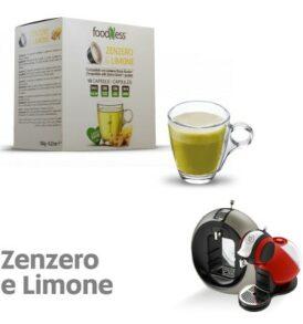 foodness capsule cialde dolce gusto zenzero limone