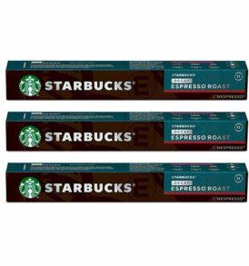 starbuck decaffeinato nespresso capsule compatibili